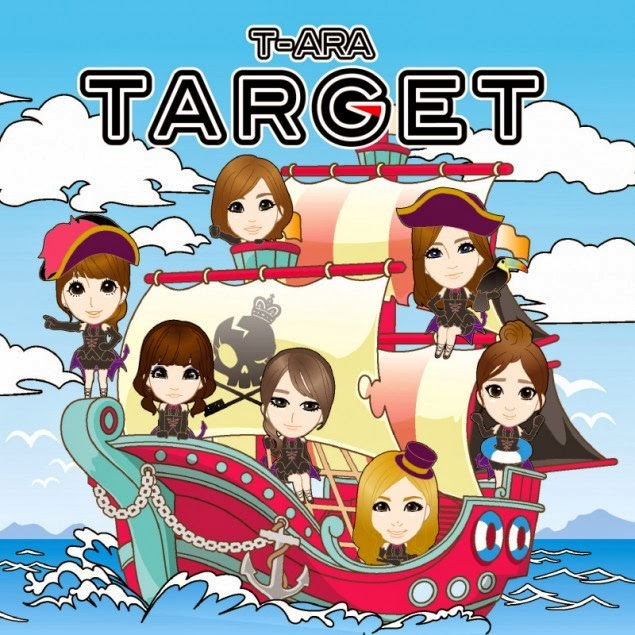 [Single] T-ara – TARGET (Japanese) (FLAC)