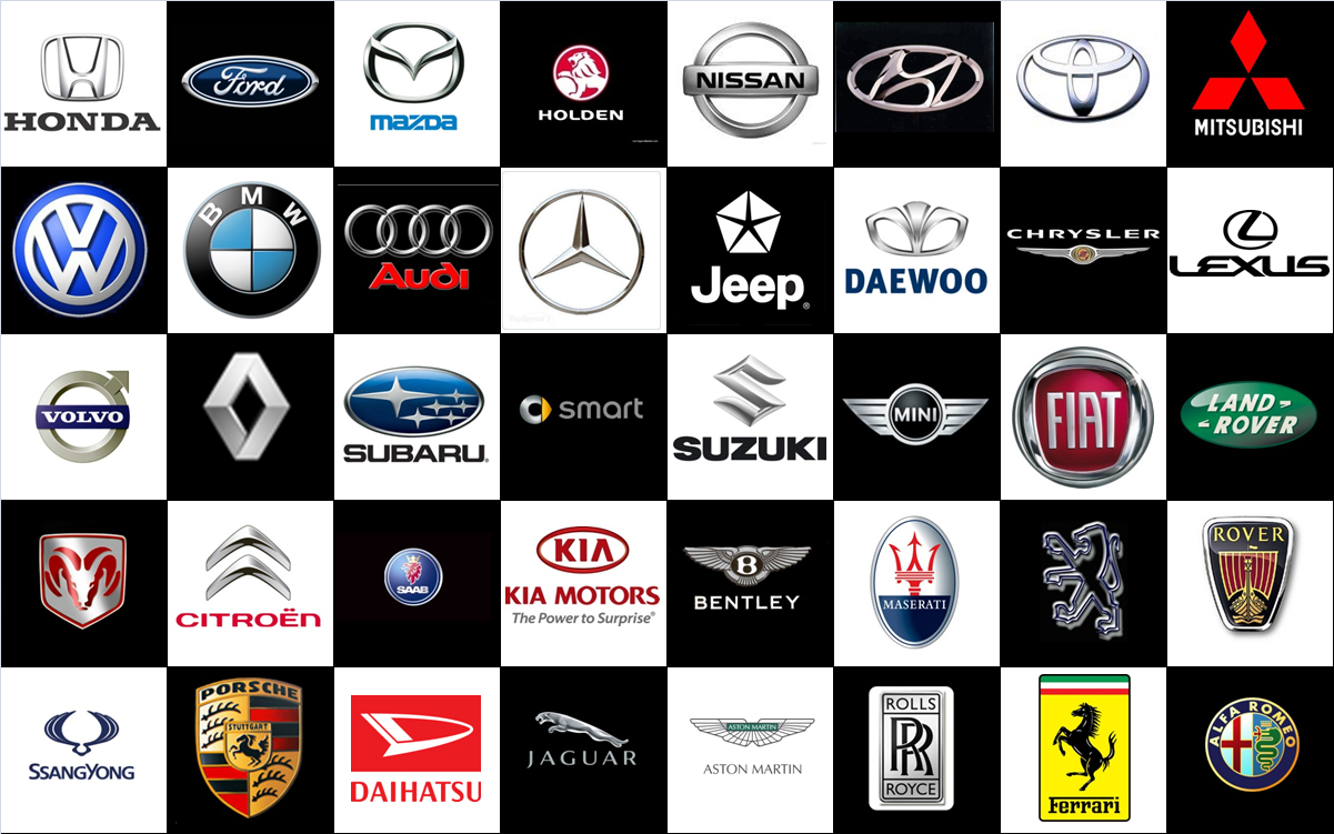 Car Model Names List A Z