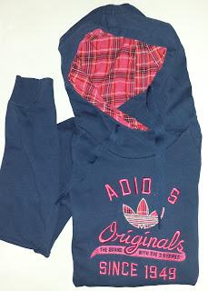 Sudadera azul marino de Adidas Originals