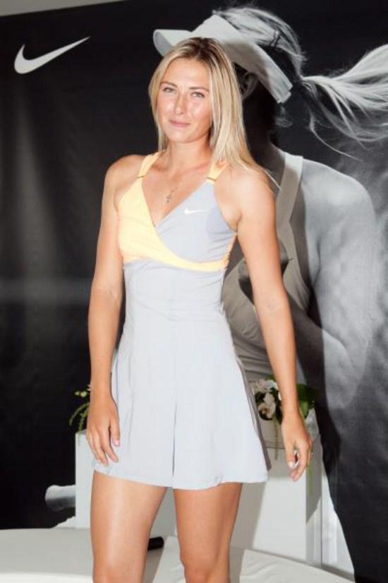 tennis player girl nude