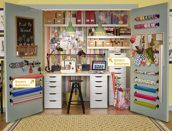 Craft Room Organizer Systems: The Paper Boutique: Simply Organized Sunday