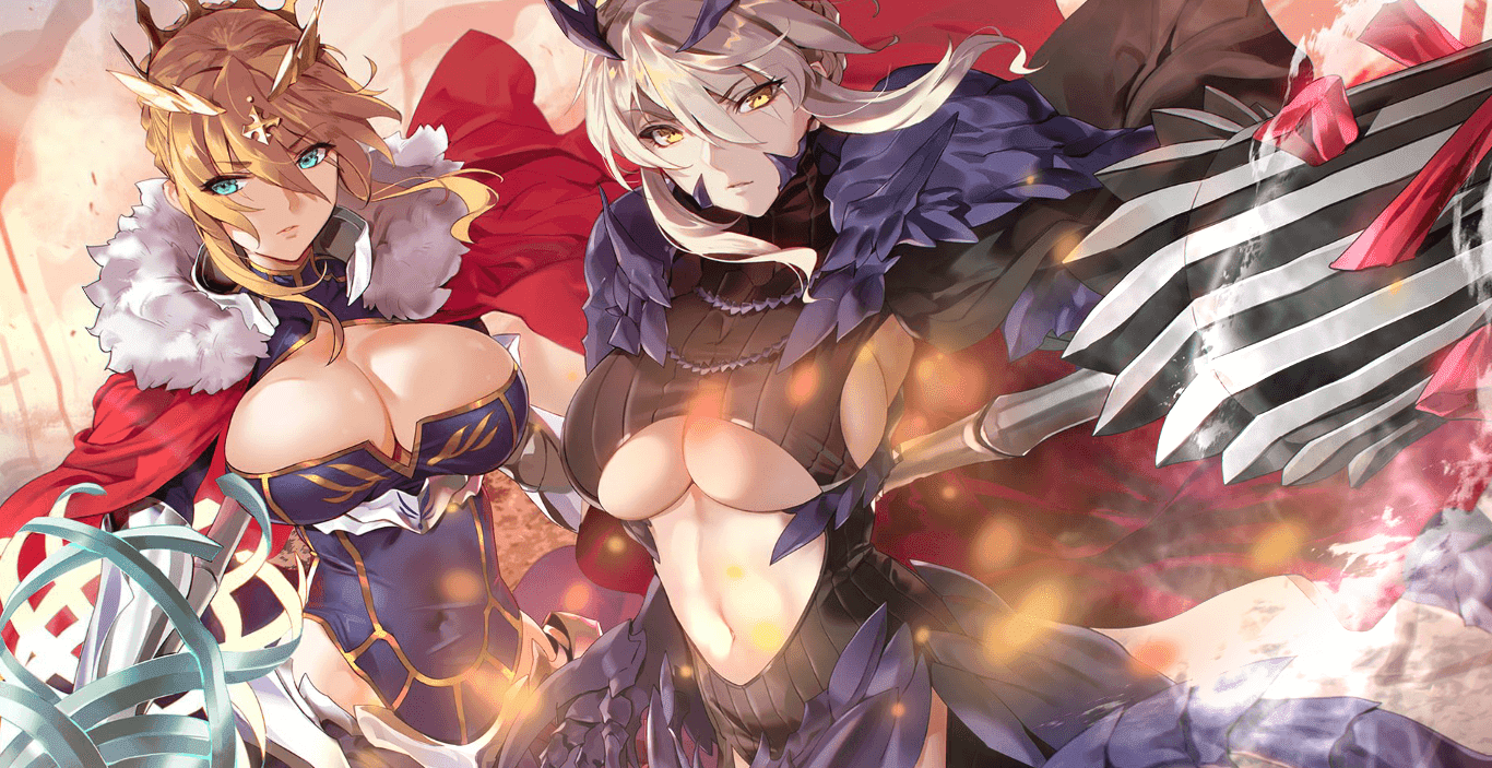 Lancer & Alter Pendragon Animated [Wallpaper Engine Anime]