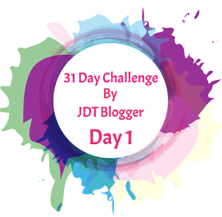 31 Day Challenge By JDT Blogger | Day 1 - Siapa Saya