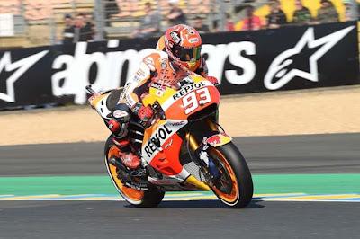 Walau Start Jauh di Depan, Marquez Takut dengan Rossi
