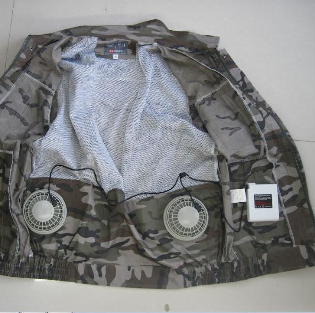 áo điều hòa nhật bản