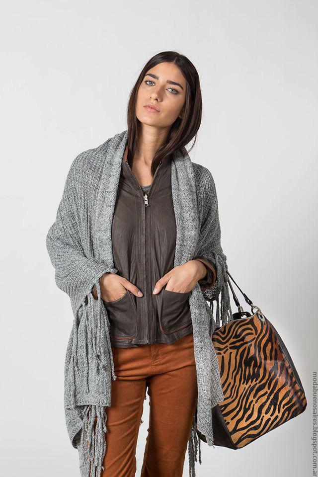 Moda invierno 2016 looks Marcela Pagella invierno 2016 ropa de mujer. Moda 2016.
