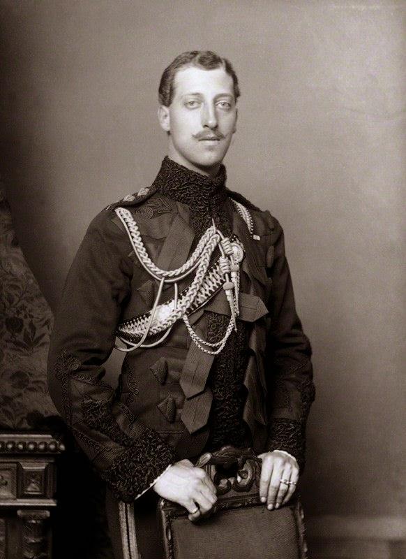 Gods And Foolish Grandeur Albert Victor Christian Edward border=