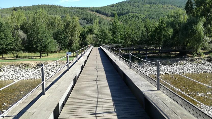 Ponte pedonal de Valhelhas