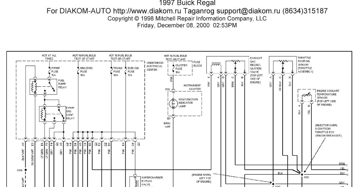 2011 buick regal wiring diagram 1997 buick regal system wiring diagrams engine performance ... 98 buick regal wiring diagram #9