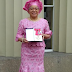 British-born Nigerian woman rocks traditional attire to visit the Queen of England