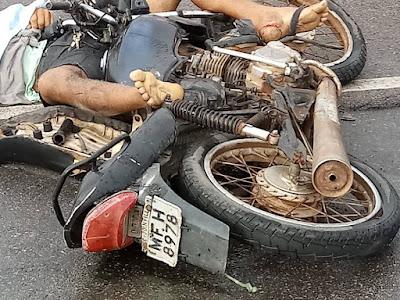 Em Delmiro Gouveia, homem morre vítima de acidente com moto na AL-220