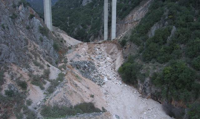 Καθησυχαστική η Εγνατία οδός για την Γέφυρα Κρυσταλλοπηγής