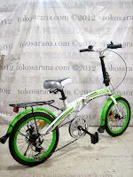 Sepeda Lipat Exotic 18-2658D Disc 6 Speed 20 Inci