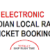 Book Indian Local Rail Tickets from your smartphone