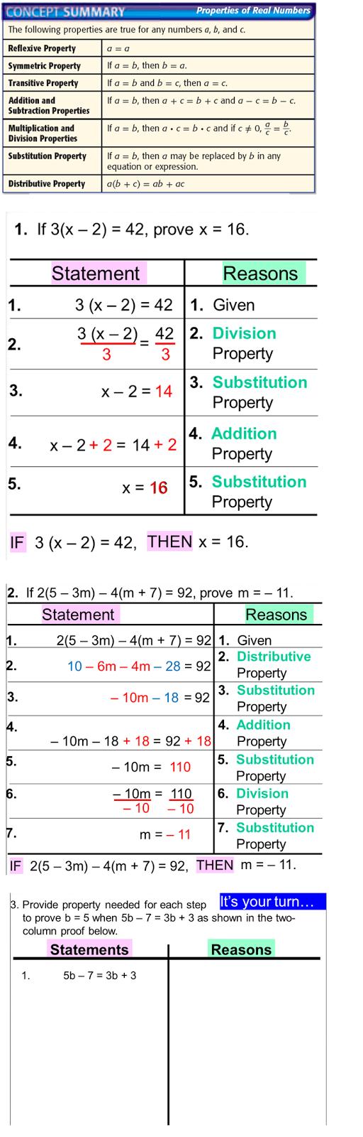 Geometry Pre Ap 10 Algebraic Proofs
