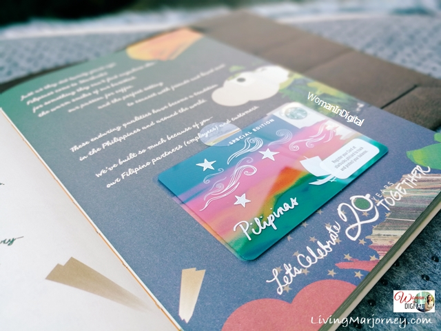 Starbucks Planner 2018 with Starbucks Kape Vinta Card
