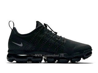 new style ff129 8f723 OFFICIEL NIKE AIR VAPORMAX RUN UTILITY CHAUSSURES DE BASKET PAS CHER HOMME  ALL STAR BLACK AQ8810 001