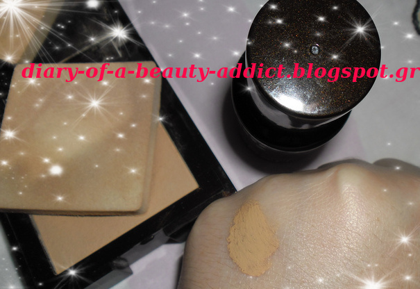 Korres Wild Rose Foundation & Compact Powder (WRP3)