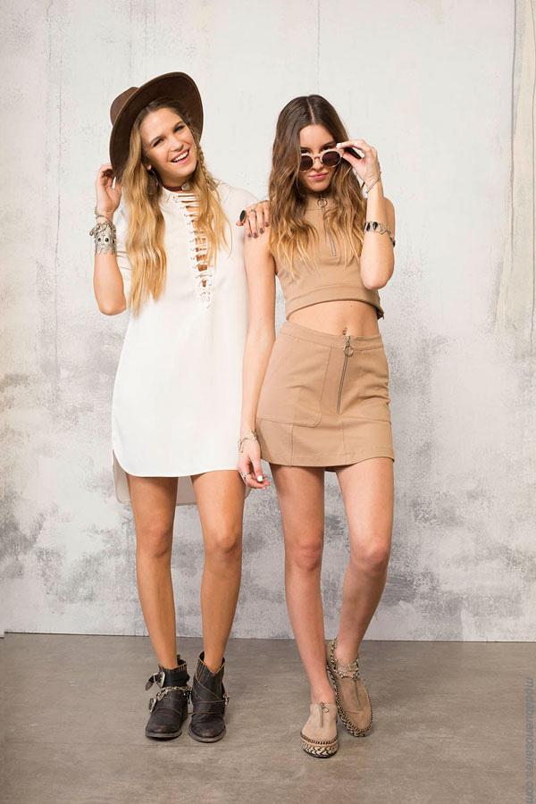 Moda verano 2017. Moda 2017 faldas y vestidos cortos.