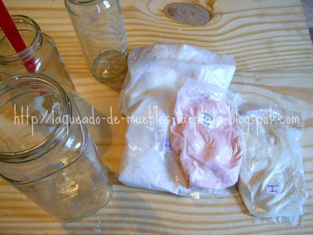Preparar esmaltes para cerámica