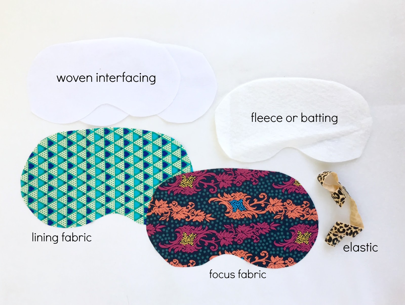 sewhungryhippie: How to sew a sleep mask