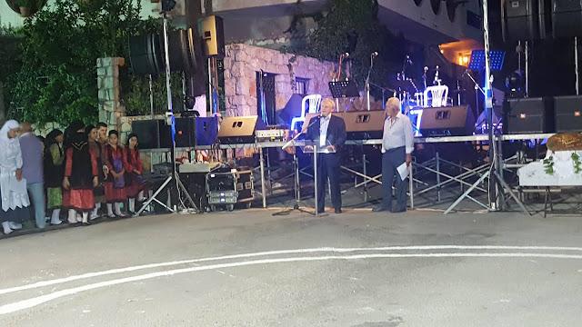 Ανδριανός στη γιορτή κρασιού στο Ηλιόκαστρο για τη σημασία της αξιοποίησης των ποιοτικών προϊόντων της Αργολίδας