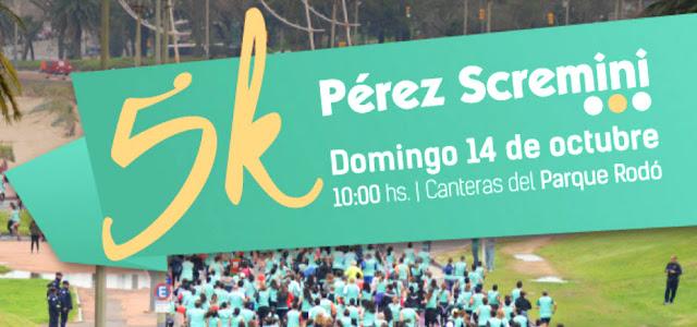 5k Fundación Pérez Scremini (Canteras del parque Rodó - Montevideo, 14/oct/2018)