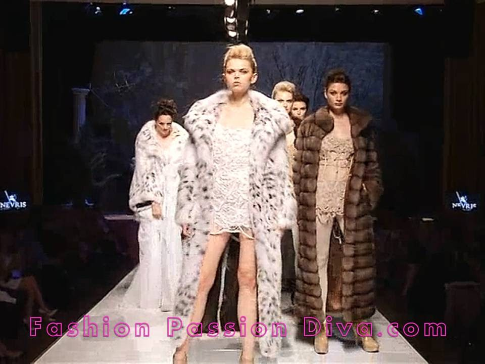 athens international fur fair fashion show 2014
