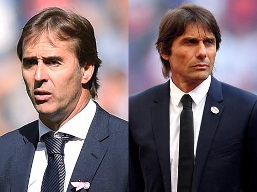 Lopetegui bị sa thải hôm nay, Conte thế chỗ