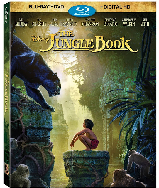 Disney Jungle Book Digital Code Giveawawy