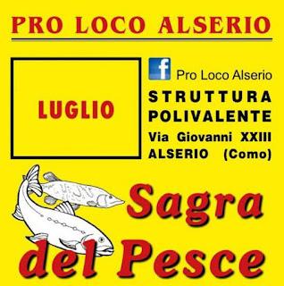 Sagra del Pesce 21-22-23 luglio Alserio (CO)