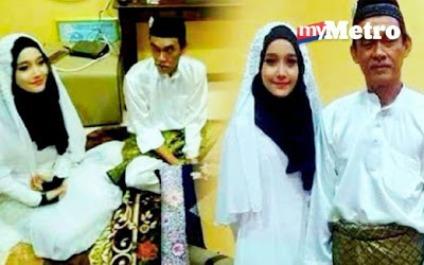 Perkahwinan Ismail dan Nur Nasirah yang menjadi viral di Facebook