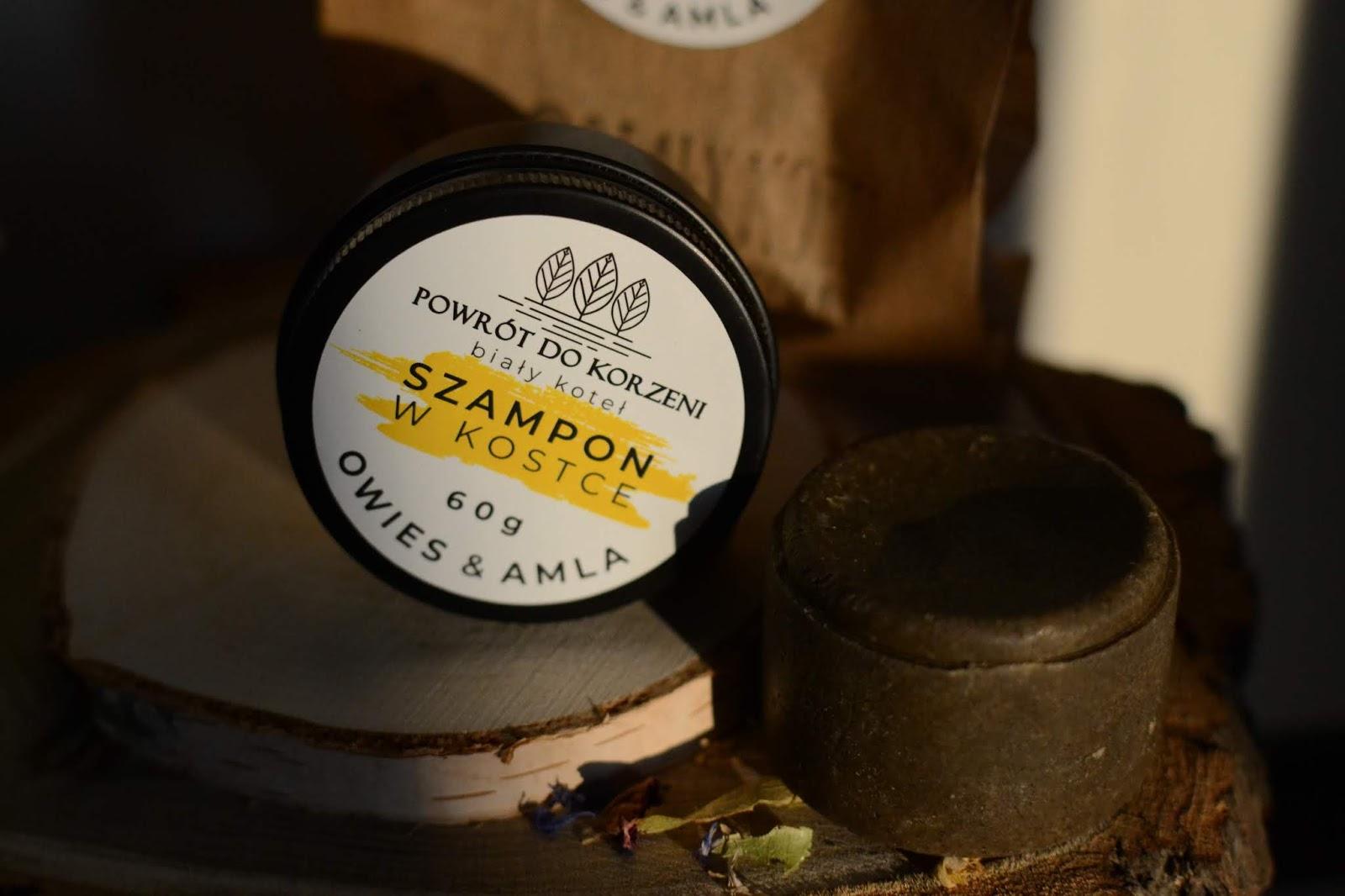 szampon w kostce