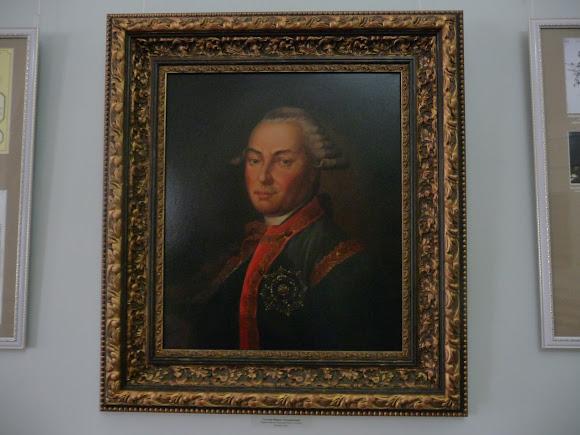 Батурин. Дворец Кирилла Разумовского. Портрет Разумовского