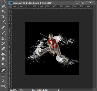 Tutorial Manipulasi Photoshop Effect Foto Cahaya