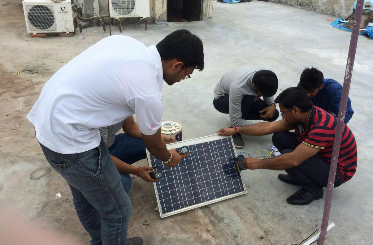 Hands On Practical Training On Solar Pv System Installer