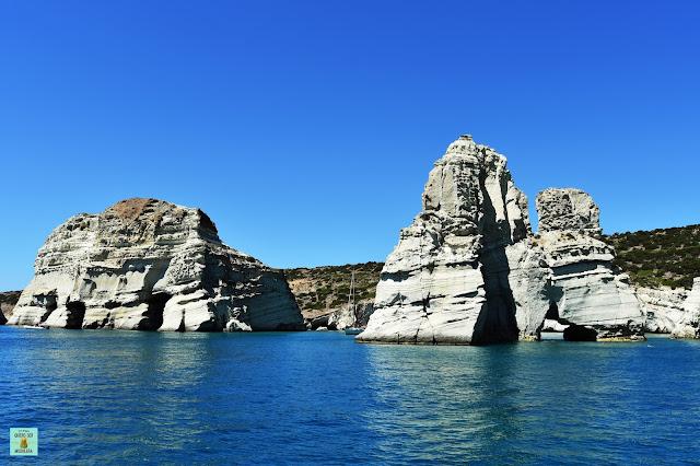Kleftiko, isla de Milos (Grecia)