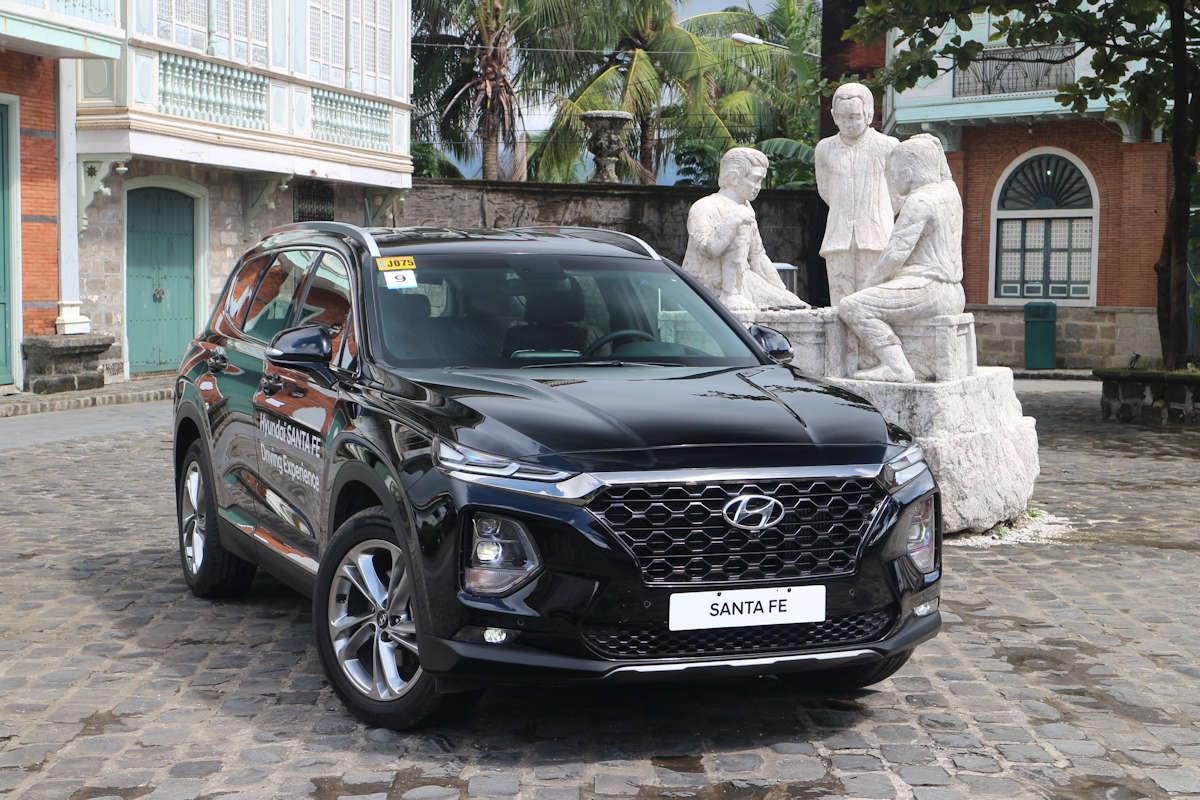 First Drive 2019 Hyundai Santa Fe Gls 2wd Philippine Car