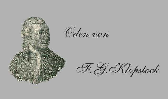 Gedichte Und Zitate Fur Alle Oden Von F G Klopstock Die Sonne