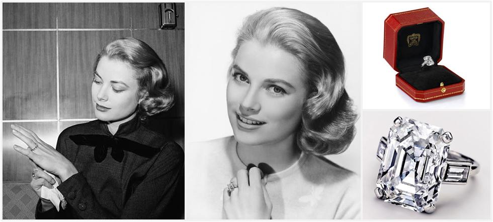 The Royal Order Of Sartorial Splendor Flashback Friday. Grace Kelly Enement  Ring Was A Diamond ...