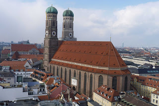 Frauenkirche desde la torre del Neues Rathaus.