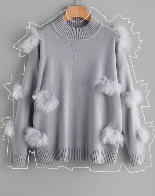 http://www.romwe.com/Ribbed-Trim-Faux-Fur-Ball-Applique-Jumper-p-244441-cat-755.html?utm_source=meyeresztervirag.com&utm_medium=blogger&url_from=meyeresztervirag
