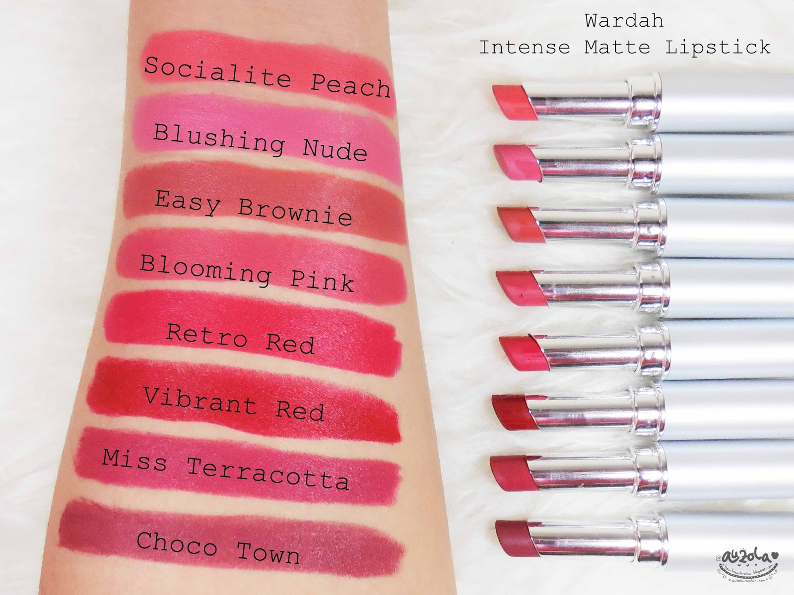 Rainbowdorable By Auzola Indonesian Beauty Blogger Review Wardah Lip Gloss Here Goes On My Lips
