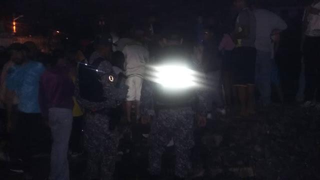 Supuesta Minuta: Autoridades de Carabobo presuntamente confirmaron  que en sector Flor Amarillo cayó objeto no identificado.FOTOS.