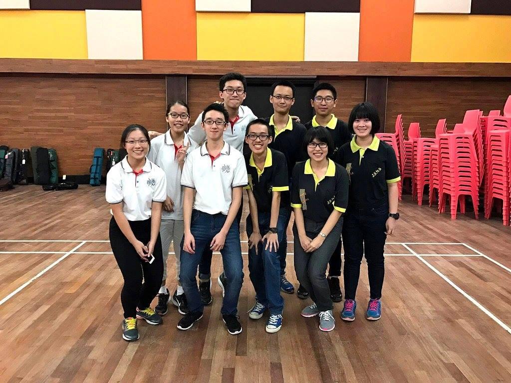 新加坡德明政府中學華樂團交流會