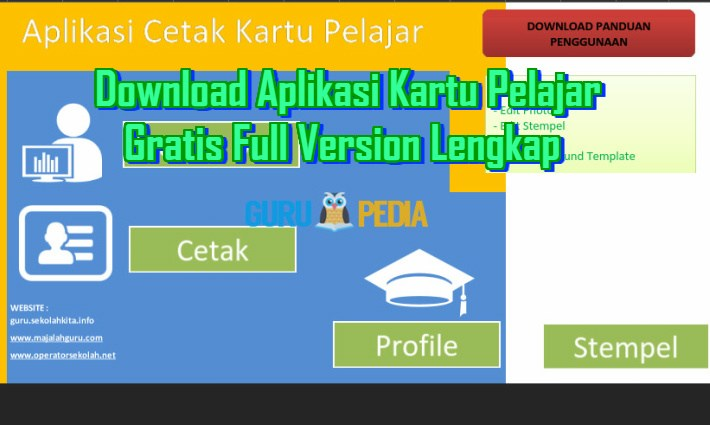 Download Aplikasi Kartu Pelajar Gratis Full Version Lengkap Info Guru Pedia