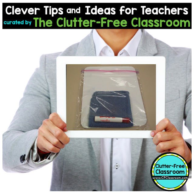 Students LOVE to use dry erase boards and they are a great tool for monitoring what your students know. This blog post from the Clutter-Free Classroom shows teachers an easy way to organize dry erase boards and markers in the classroom.