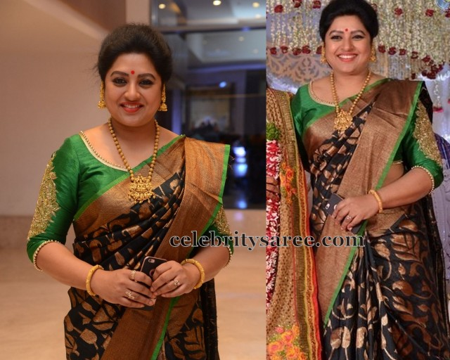 Latest South Indian Designer Saree And Blouse Neck Designs
