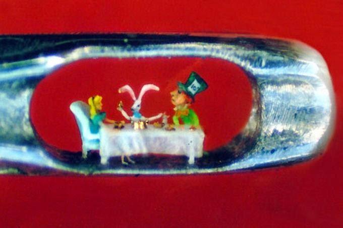 mas increibles micro escultura