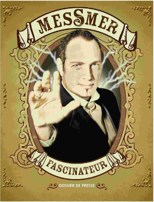 - L'affiche d'un spectacle de Messmer -